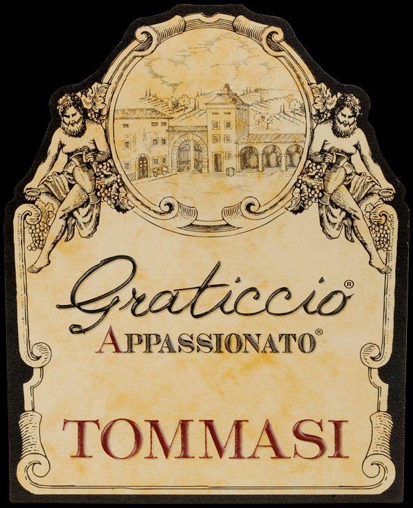 托马斯格瑞提可干红Tommasi Graticcio Appassionato VINO ROSSO