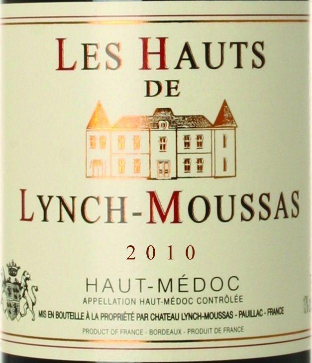 靓茨摩斯酒庄副牌干红Les Hauts de Lynch-Moussas