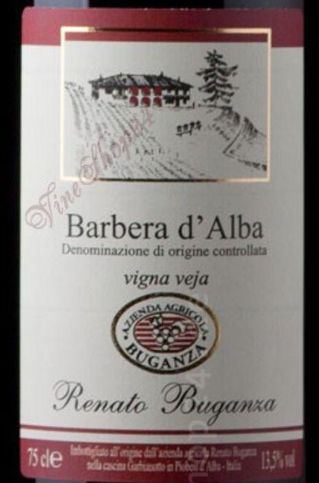 布甘萨维嘉园巴贝拉干红Renato Buganza Barbera d'Alba vijà