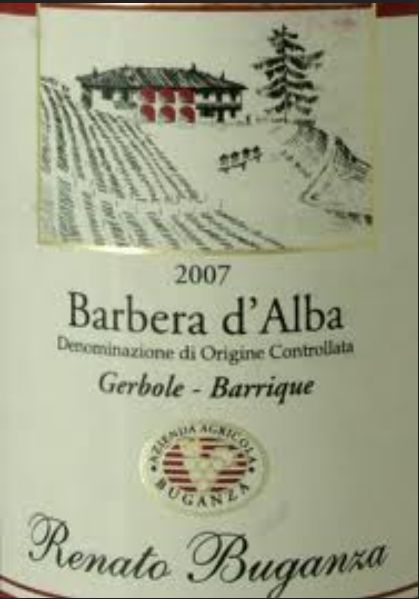 布甘萨格宝园巴贝拉干红Renato Buganza Barbera d'Alba Gerbole