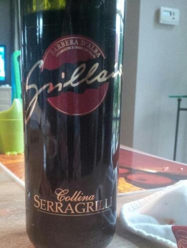 塞拉格里格里拉亚巴贝拉干红Serragrilli Grillaia Barbera d'Alba