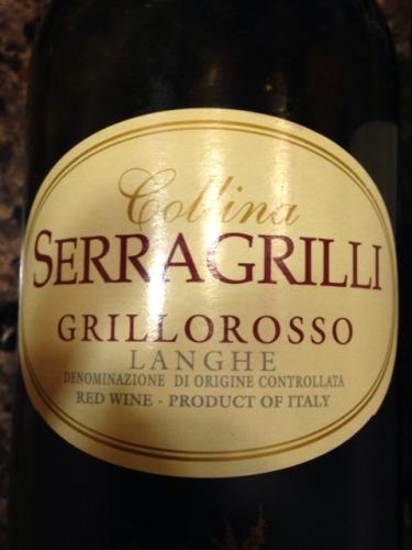 塞拉格里格里罗干红Serragrilli Grillo Rosso Langhe Rosso