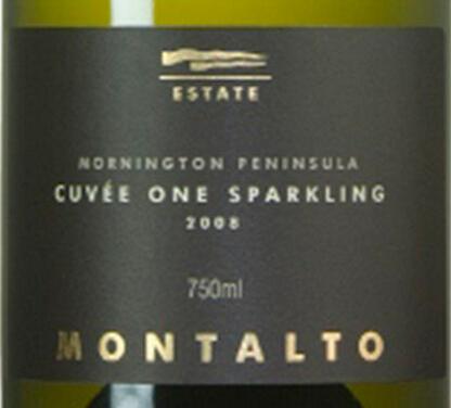 蒙塔托特酿起泡Montalto Cuvee One Sparkling