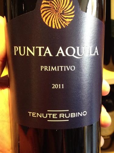 Tenute Rubino Punta Aquila Primitivo