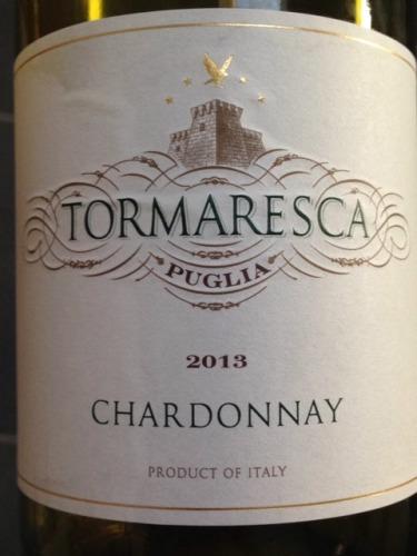 瑞斯卡霞多丽干白Tormaresca Chardonnay