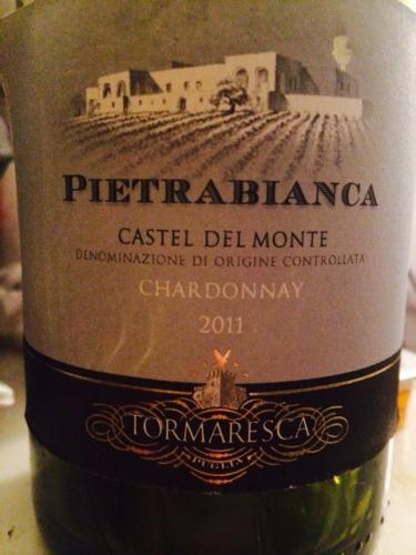 瑞斯卡清岩岳山古堡干白Tormaresca Pietrabianca Chardonnay Castel del Monte