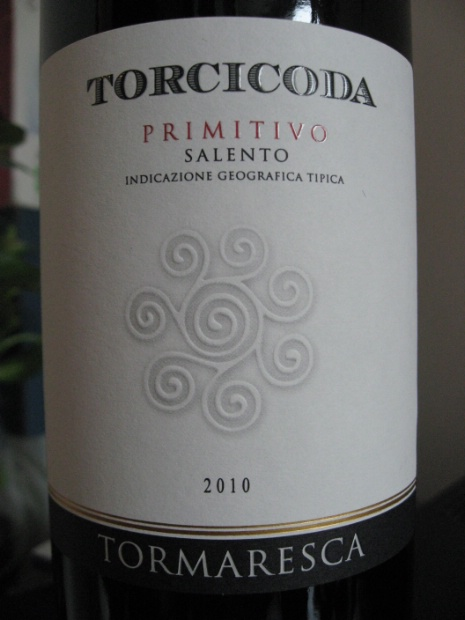 瑞斯卡普里米蒂沃萨伦托干红Tormaresca Torcicoda Primitivo del Salento