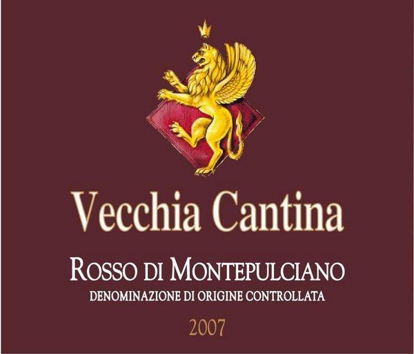威杰亚波吉奥斯特拉蒙特普齐亚诺干红Vecchia Cantina Rosso di Montepulciano