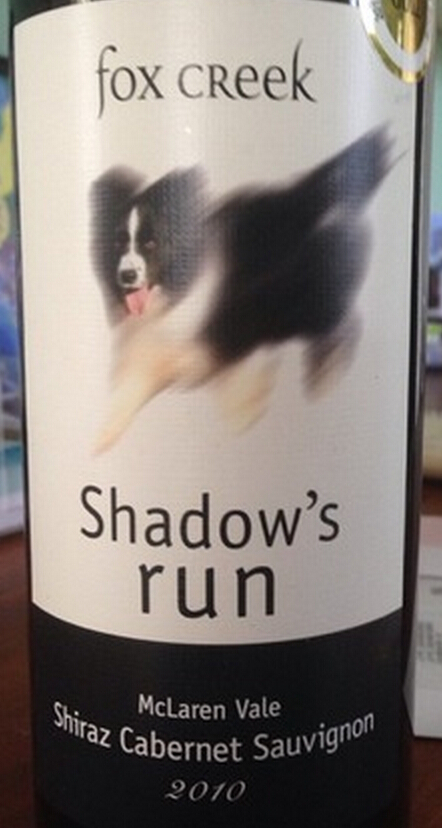 狐狸湾追影西拉-赤霞珠干红Fox Creek Shadow's run Shiraz - Cabernet Sauvignon