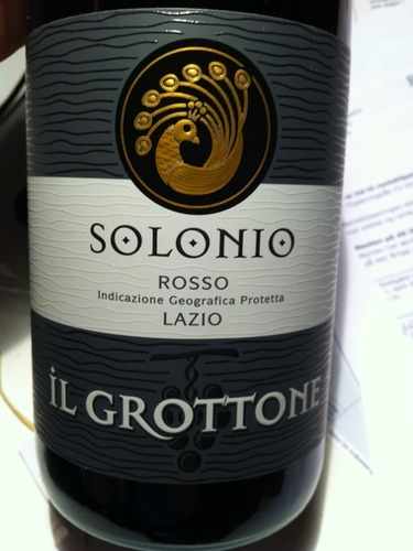 圣罗尼格罗特内干红Solonio Grottone Rosso