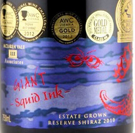 三联甲墨赢西拉干红III Associates Giant Squid Ink Shiraz