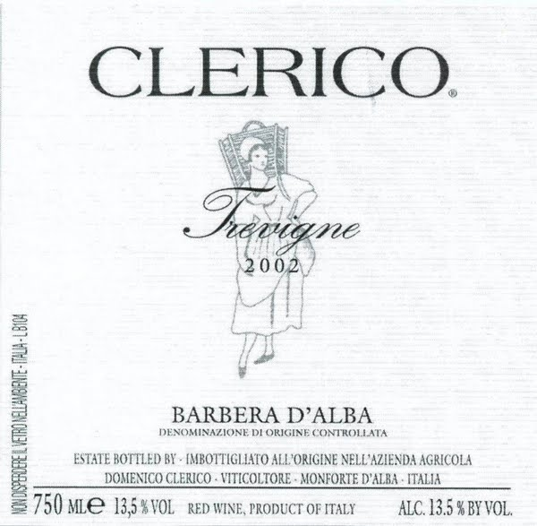 克莱里科巴贝拉干红Domenico Clerico Barbera d'Alba
