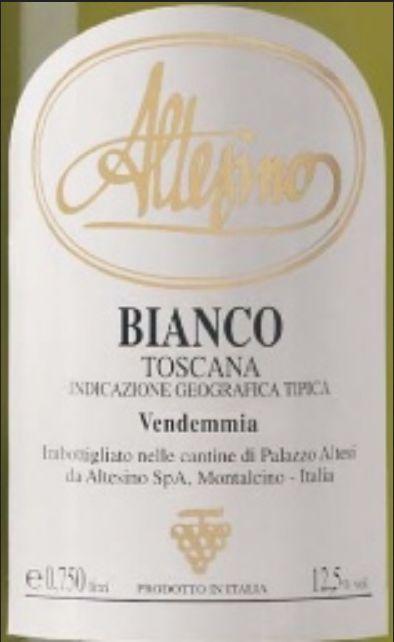 阿尔泰斯诺干白Altesino Bianco