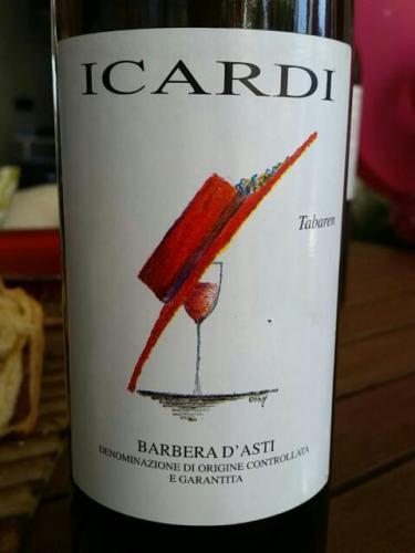 伊卡迪达巴林巴贝拉干红Icardi Tabarin Barbera d'Asti