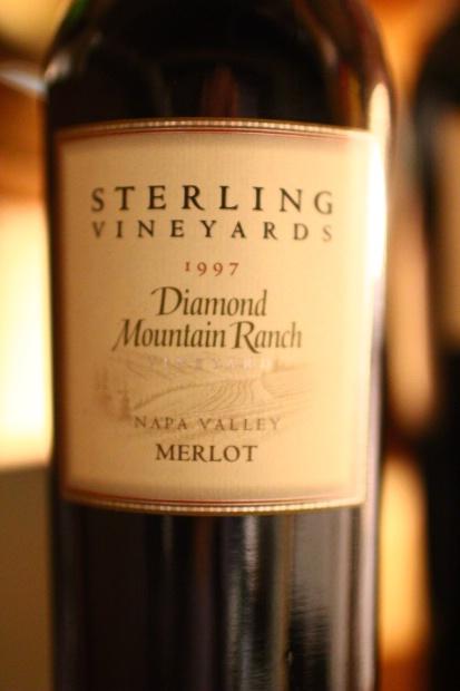 史特林钻石山梅洛干红Sterling Vineyards Diamond Mountain Ranch Merlot