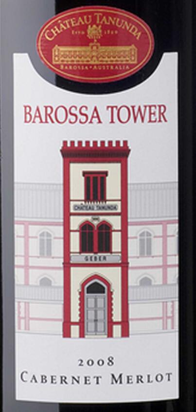塔奴丹塔巴罗萨塔赤霞珠-梅洛干红Chateau Tanunda Barossa Tower Cabernet - Merlot