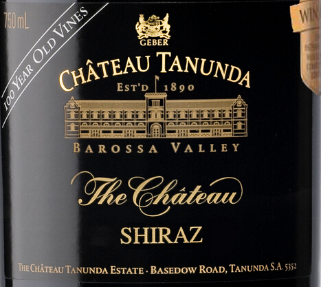 塔奴丹塔100年老藤西拉干红Chateau Tanunda The Chateau 100 Year Old Vine Shiraz