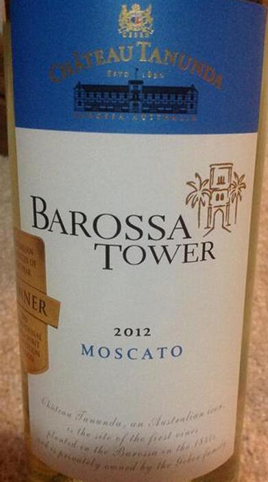 塔奴丹塔巴罗萨塔莫斯卡托干白Chateau Tanunda Barossa Tower Moscato