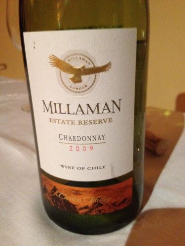 金鹰庄园珍藏霞多丽干白Millaman Estate Reserve Chardonnay