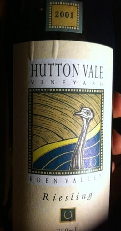 赫顿谷酒庄雷司令干白Hutton Vale Riesling