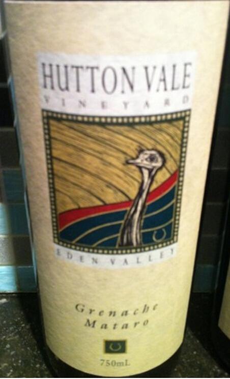 赫顿谷酒庄歌海娜干红Hutton Vale Grenache - Mataro