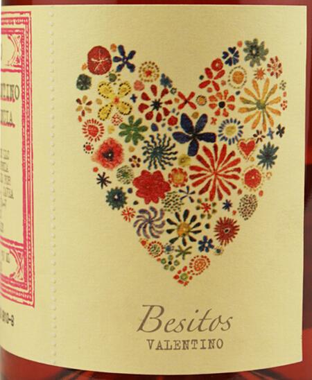 贝斯塔桃红Besitos Valentino