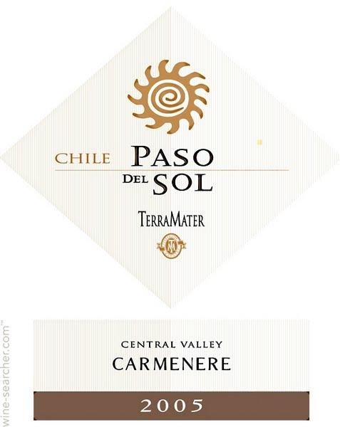 特雷玛特净土系列佳美娜干红TerraMater Paso del Sol Carmenere