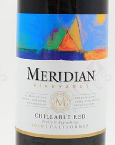 默里迪恩查理伯干红Meridian Vineyards Chillable Red