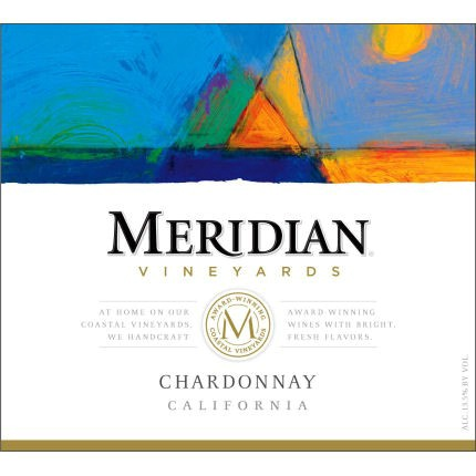 默里迪恩霞多丽干白Meridian Vineyards Chardonnay