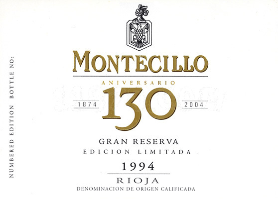 蒙特稀洛酒庄130周年特级珍藏限量版干红Osborne Bodegas Montecillo Gran Reserva 130 Aniversario Edicion Limitada