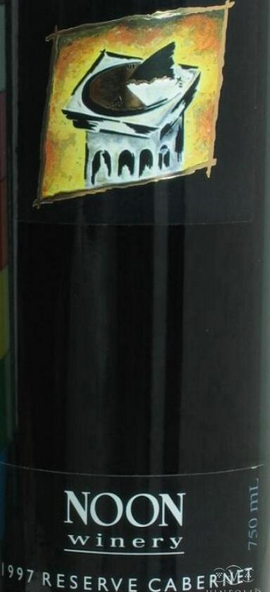 诺恩珍藏赤霞珠干红Noon Winery Reserve Cabernet Sauvignon