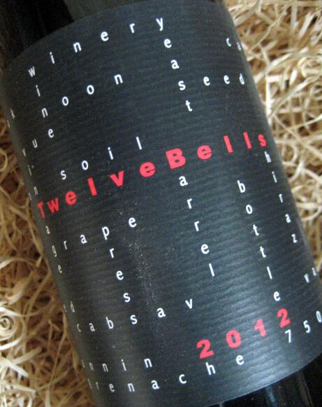 诺恩十二只铃铛干红Noon Winery Twelve Bells