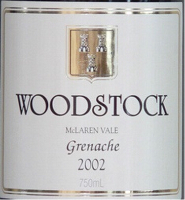 伍德斯托歌海娜干红Woodstock Grenache