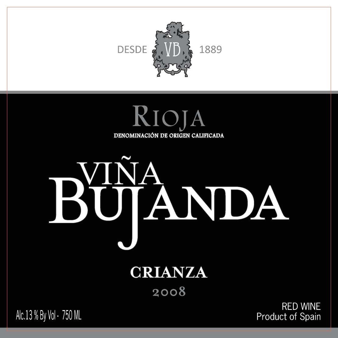 布罕达酒庄陈酿干红Vina Bujanda Crianza