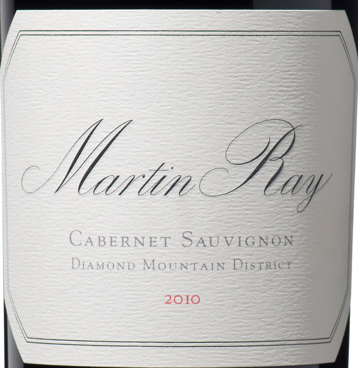 马丁雷赤霞珠干红(钻石山)Martin Ray Winery Diamond Mountain District Cabernet Sauvignon