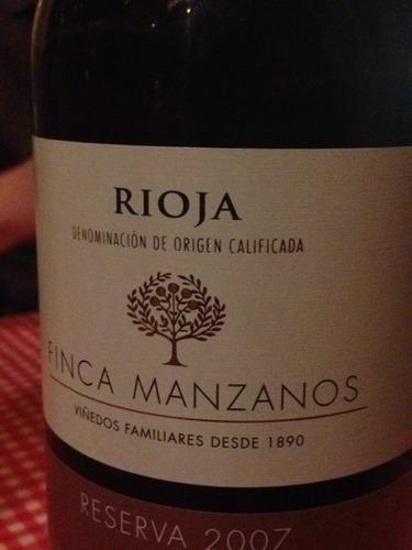 曼扎诺思酒堡费尔南德斯珍藏干红Manzanos Wines Fernandez de Manzanos Reserva