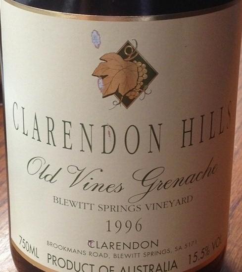 克拉伦敦山布卢伊特泉园老藤歌海娜干红Clarendon Hills Blewitt Springs Vineyard Old Vine Grenache