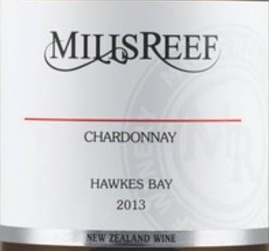 米尔瑞福霞多丽干白Mills Reef Chardonnay