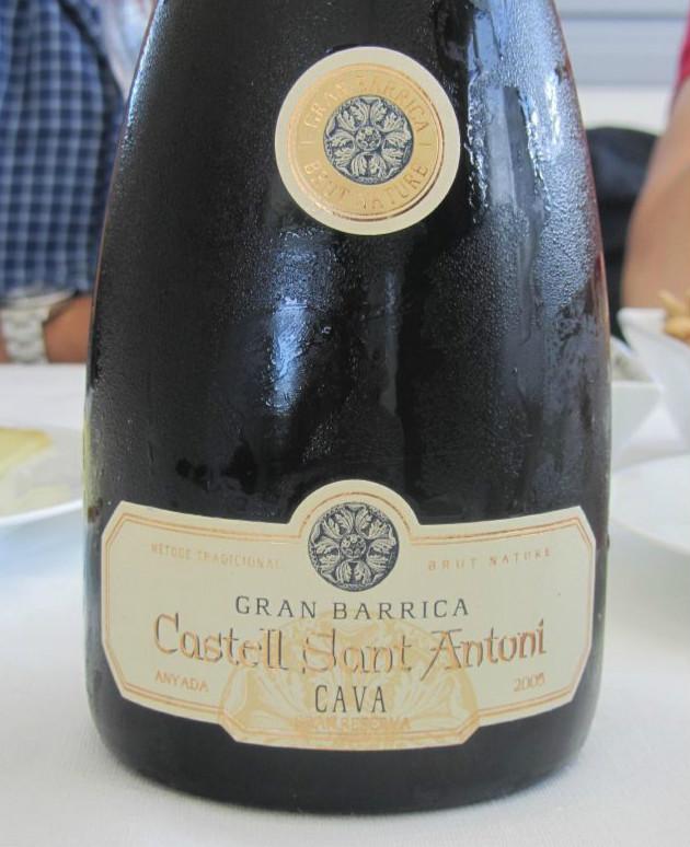 圣安东尼巴黎卡特别珍藏卡瓦起泡酒Castell Sant Antoni Gran Barrica Gran Reserva Cava