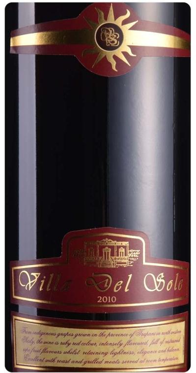 佩里诺酒庄维拉干红VILLA DEL SOLE Rosso