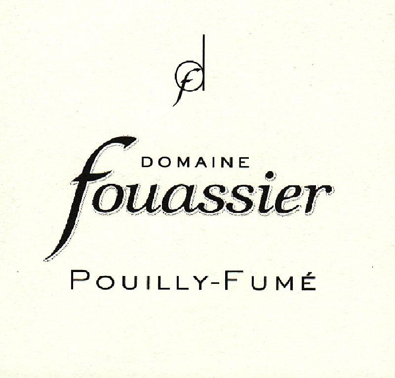 弗榭酒庄普依富美白葡萄酒DOMAINE FOUASSIER - POUILLY-FUMÉ