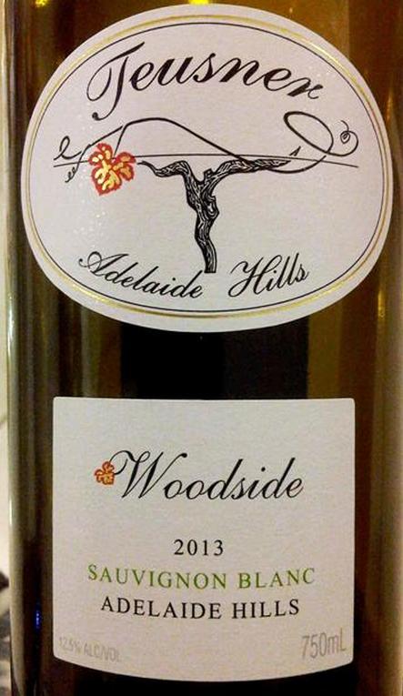 托斯纳酒庄伍德赛德长相思干白Teusner Woodside Sauvignon Blanc