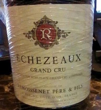 瑞墨森内父子埃雪索特级园干红Remoissenet Pere & Fils Echezeaux Grand CRU