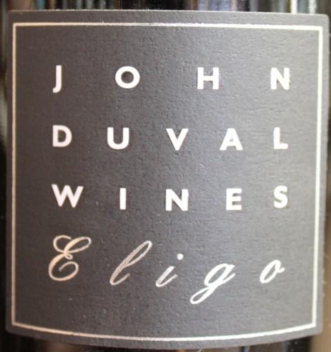 约翰杜瓦尔艾丽宫西拉干红John Duval Wines Eligo Shiraz