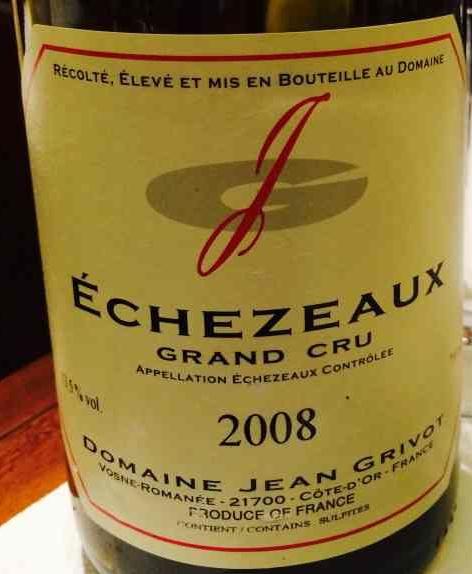 吉大调庄园埃雪索特级园干红Domaine Jean Grivot echezeaux grand cru