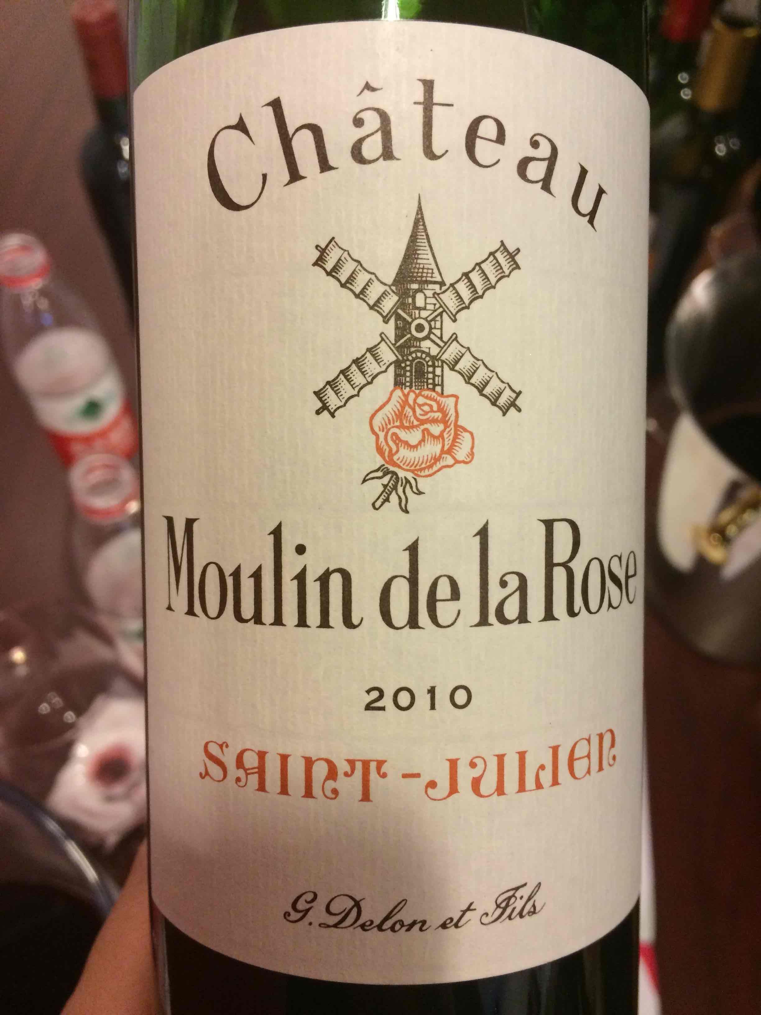 红磨坊古堡玫瑰干红Chateau Moulin de La Rose