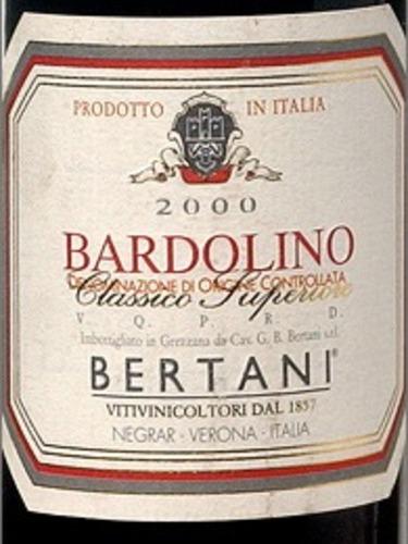 Bertani Bardolino Classico Superiore