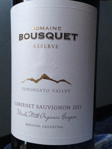 布斯科特珍藏赤霞珠干红Domaine Bousquet Reserve Cabernet Sauvignon