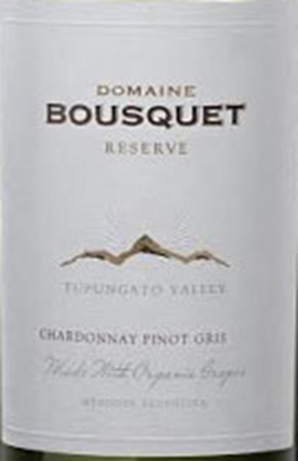 布斯科特珍藏灰皮诺霞多丽干白Domaine Bousquet Reserve Chardonnay Pinot Gris