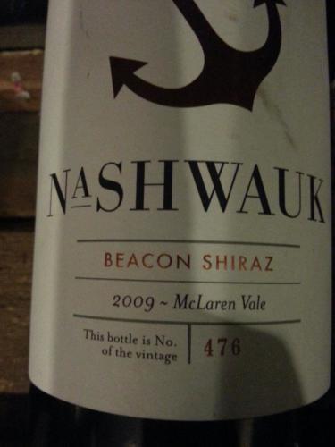 纳什沃克比肯设拉子干红Nashwauk Beacon Shiraz